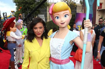 Ally Maki and Bo Peep in Toy Story 4
