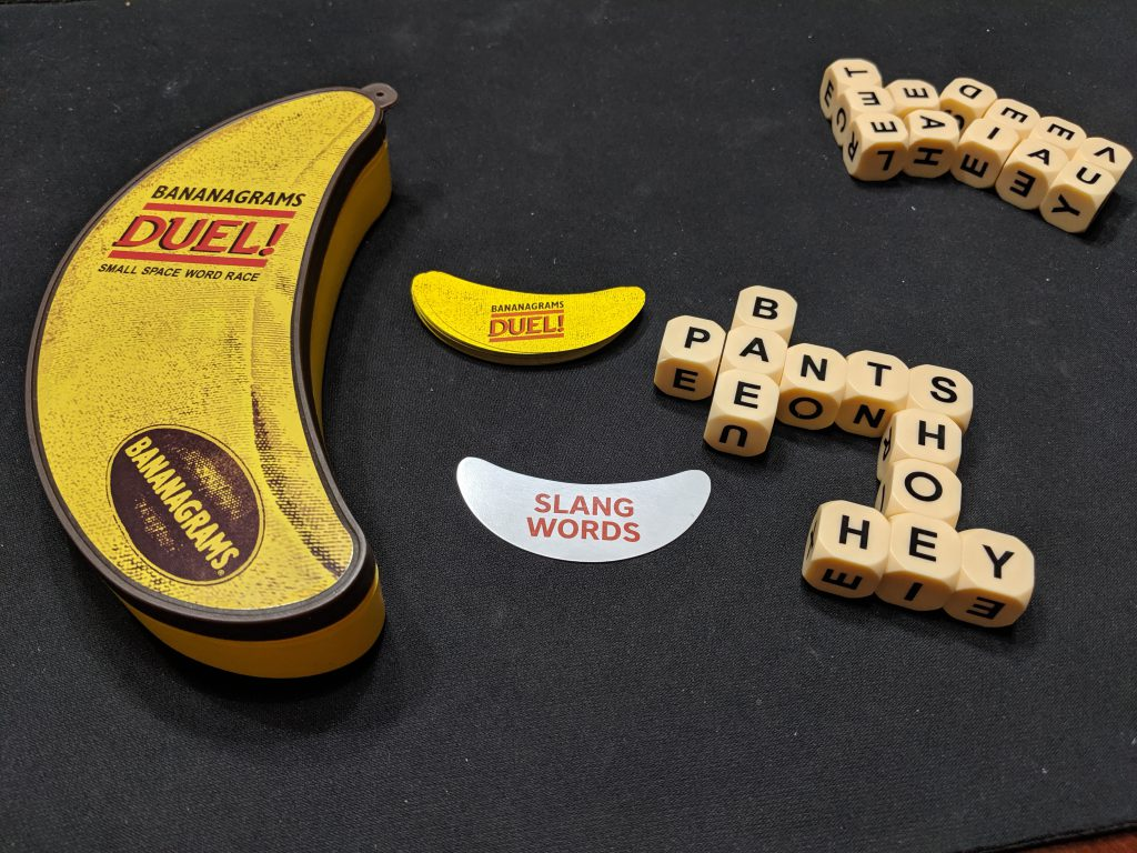 Bananagrams Duel! Remakes A Classic Game Anew - That ...