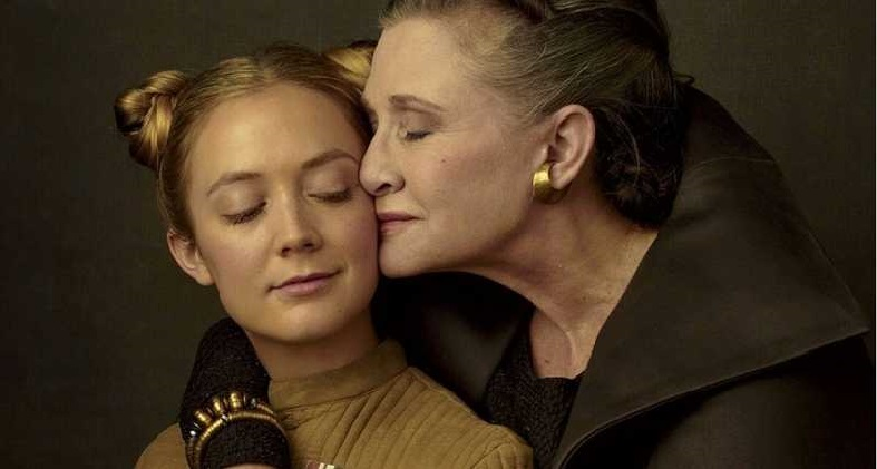 "Billie Lourd Has Called Filming STAR WARS: Episode IX ""Magical"""