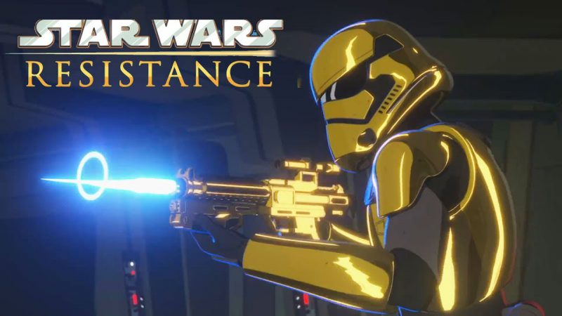 STAR WARS Resistance Ushers in Post-Return of the Jedi Era