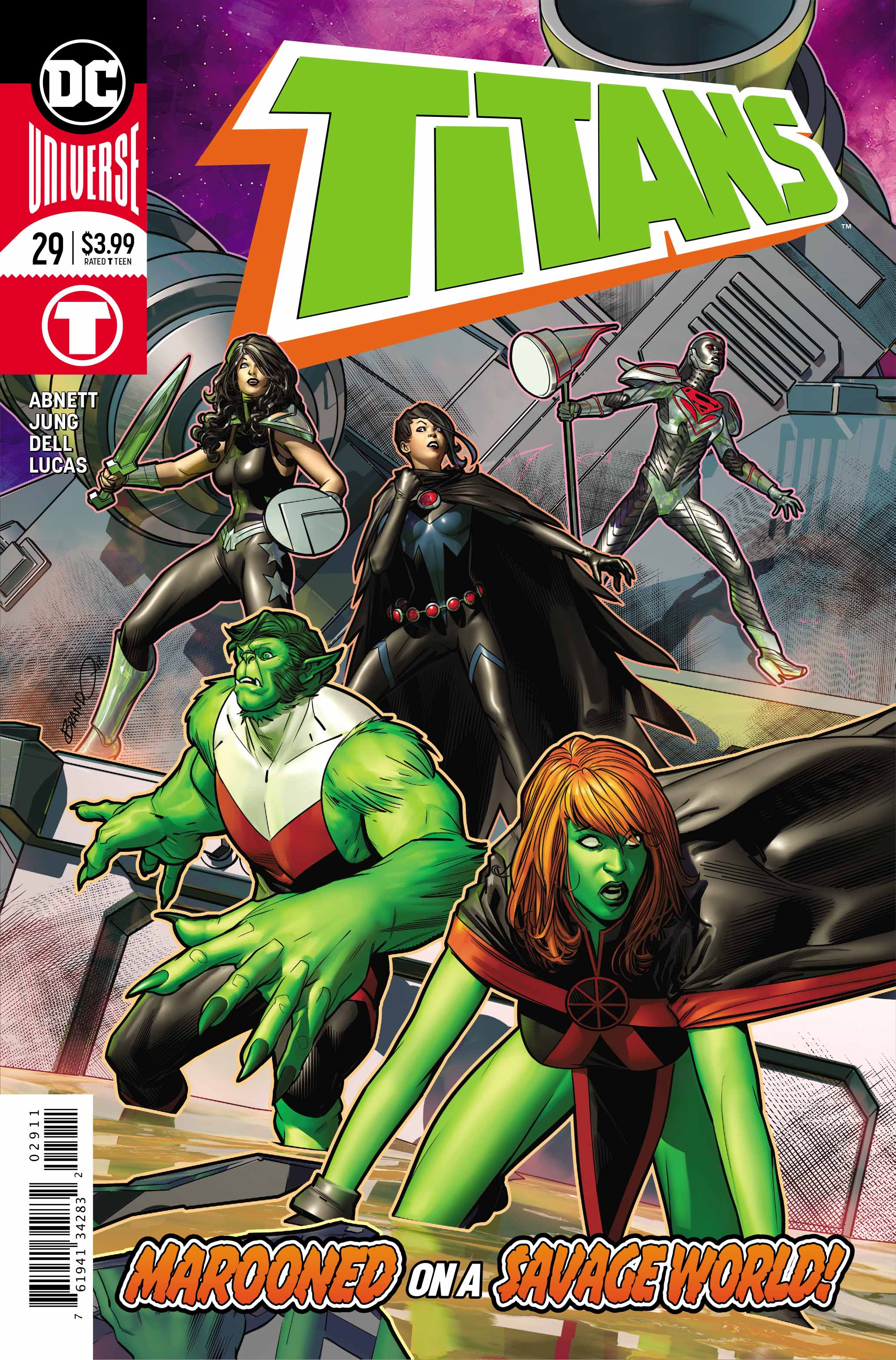 Comic Review: TITANS #29 Marooned Part 1