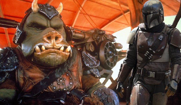 EXCLUSIVE: Gamorrean Guards Spotted on Set of 'The Mandalorian'