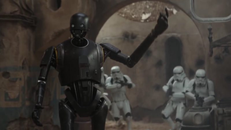 STAR WARS' K-2SO Is The Droid You're Looking For