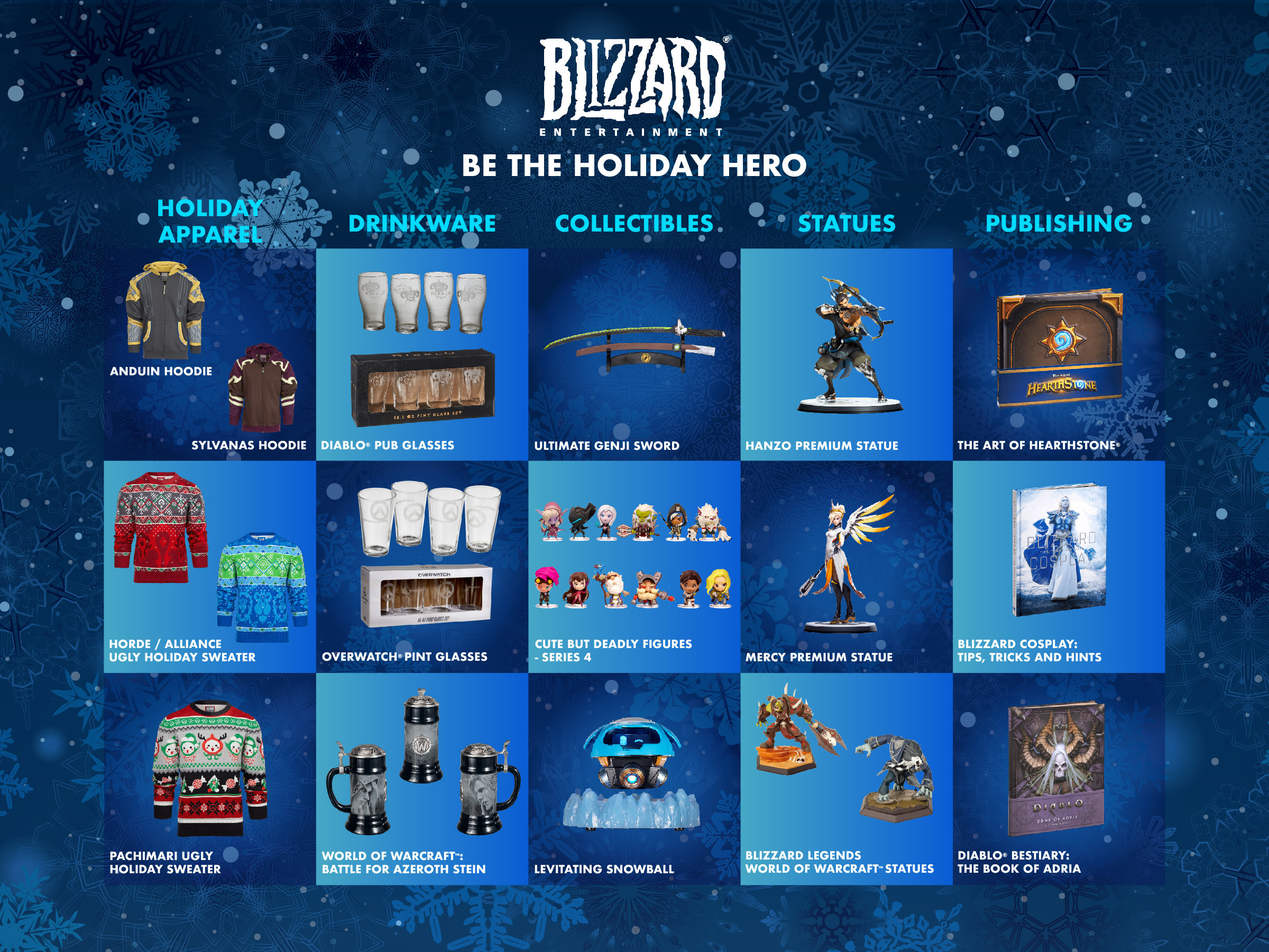 Deck the Halls This Season with Epic Gift Ideas from ACTIVISION and BLIZZARD