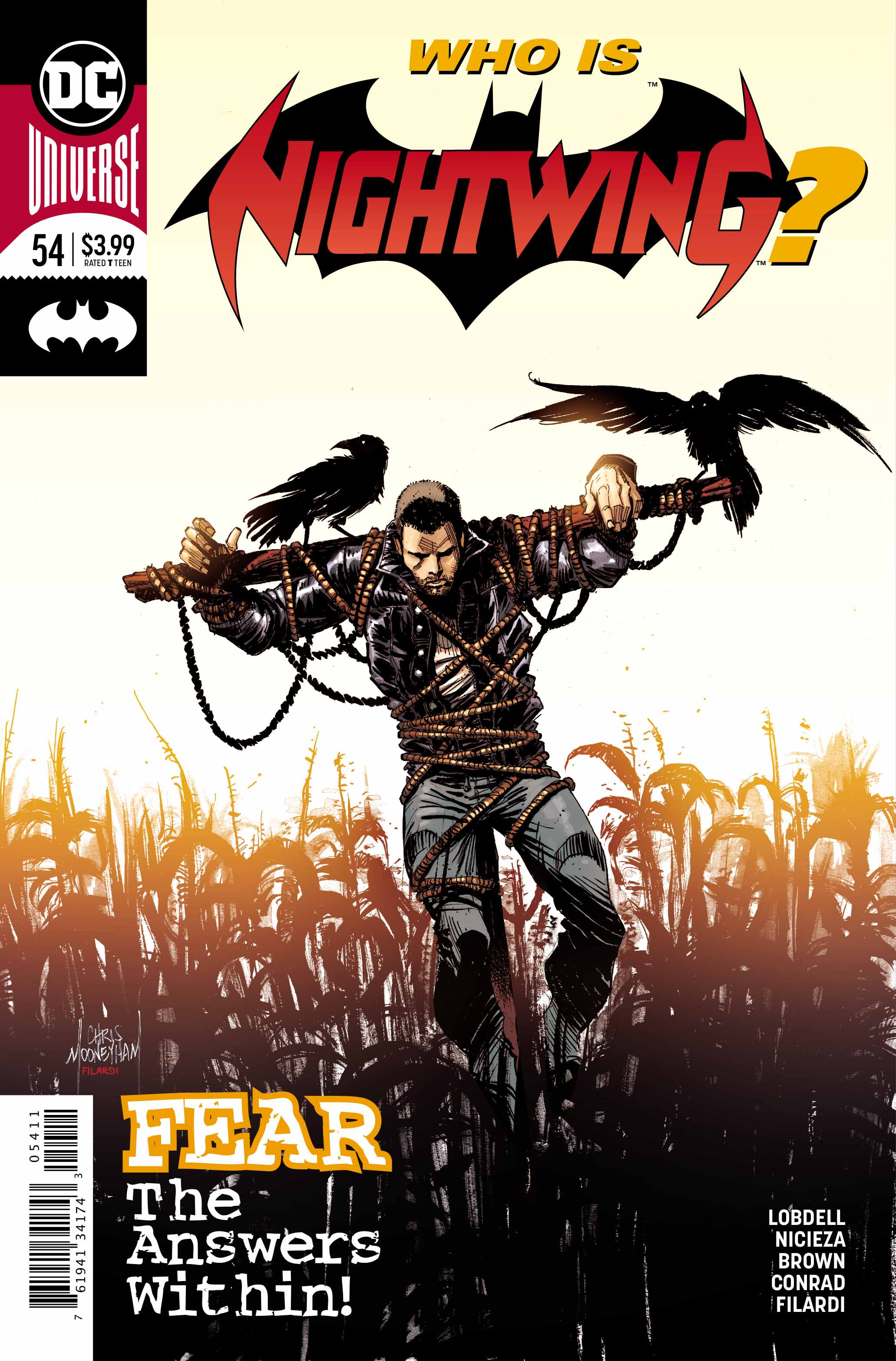 Comic Review: NIGHTWING #54 – Don't Feed the Bad Guy