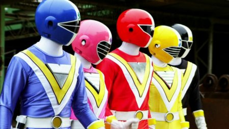 The Supersonic POWER RANGERS Have Been Introduced