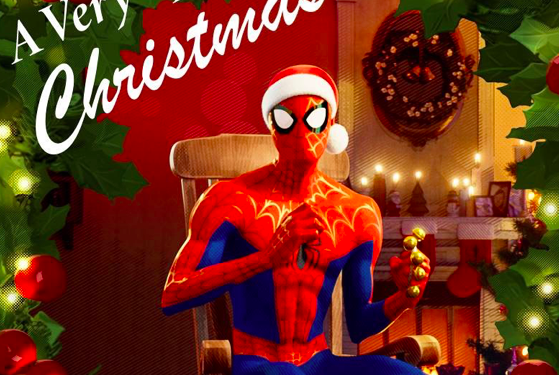 Spider-Man: Into The Spider-Verse Presents 'A Very Spidey Christmas' Featuring Chris Pine, Shameik Moore, Jake Johnson & Jorma Taccone