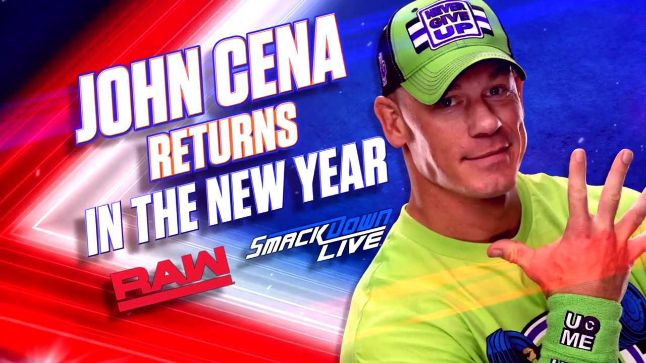 WWE Officially Announce John Cena's Return To Television