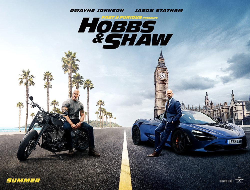 'Fast & Furious Presents: Hobbs & Shaw' Character Promos for New Trailer