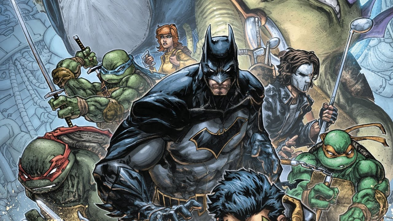 Teenage Mutant Ninja Turtles And Batman Team Up in New Animated Film