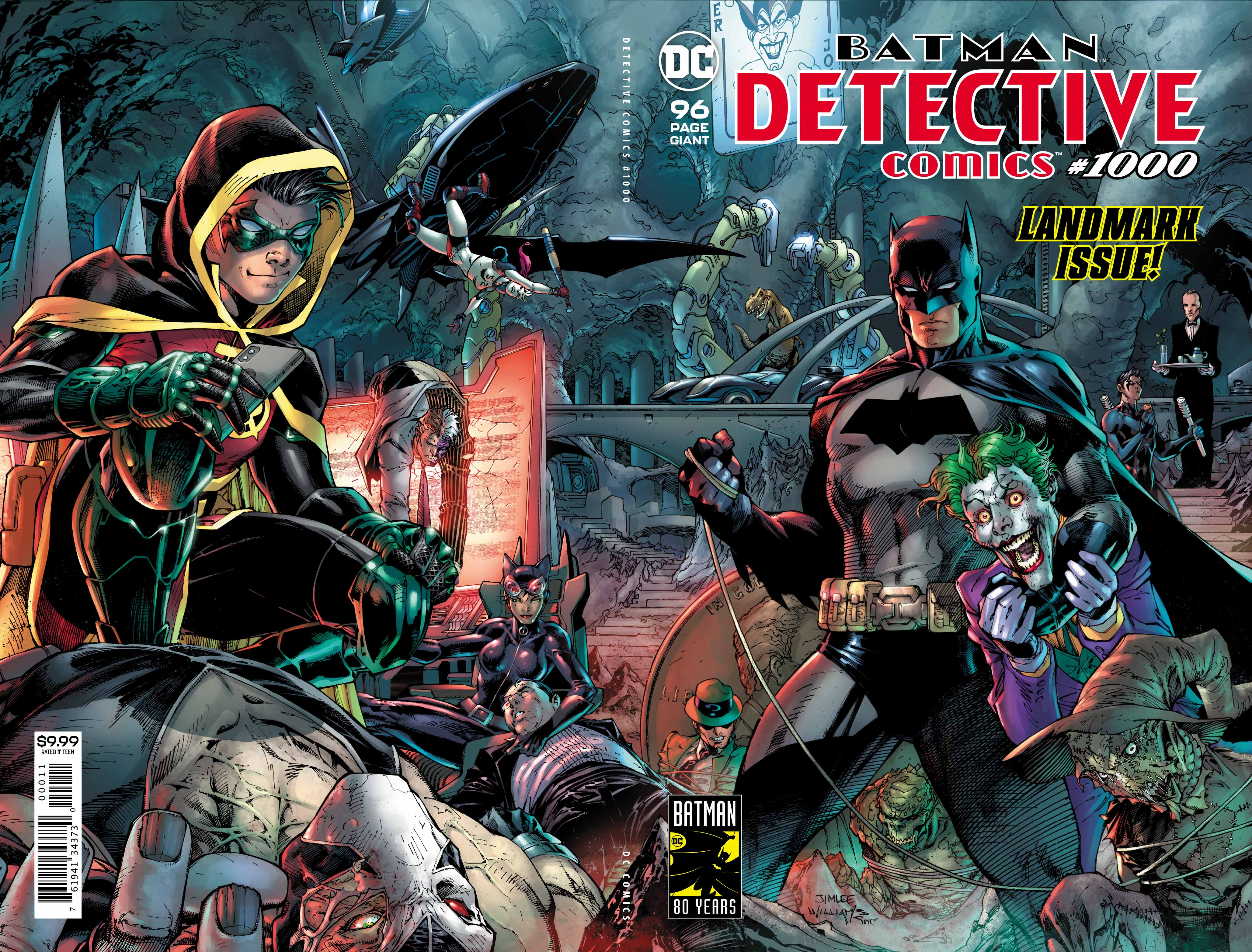 Comic Review Detective Comics #1000 – Pick A Cover, Any Cover