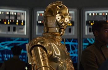 C-3PO; Threepio; leaked episode ix poster