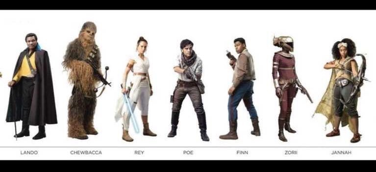 MORE Breaking STAR WARS News: Latest Leaked Episode IX Images Show Lando, New Characters