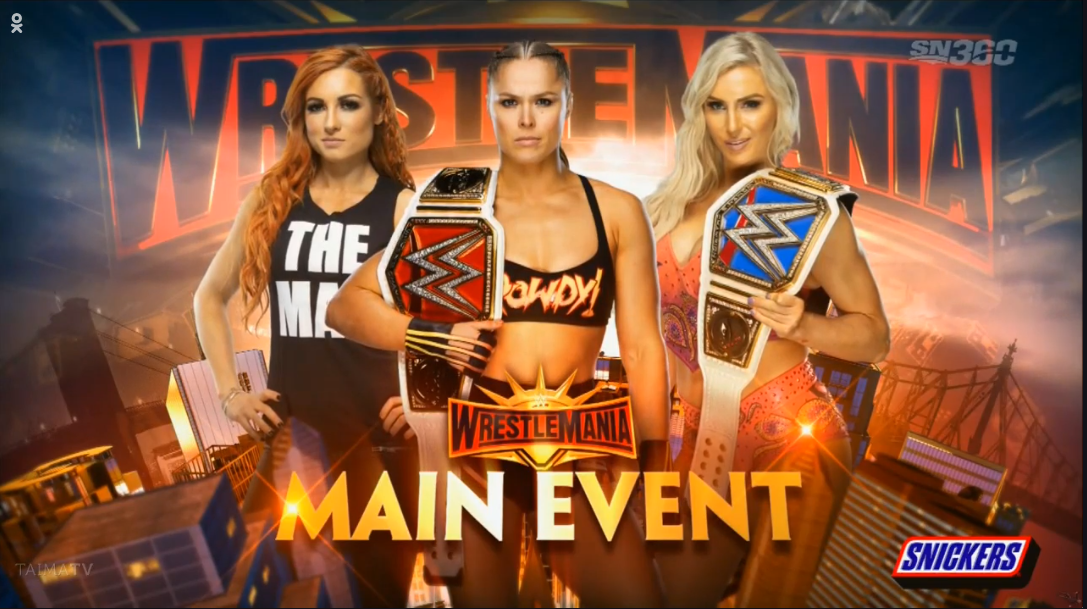 BREAKING: Huge Change to Women's Triple Threat At WrestleMania 35