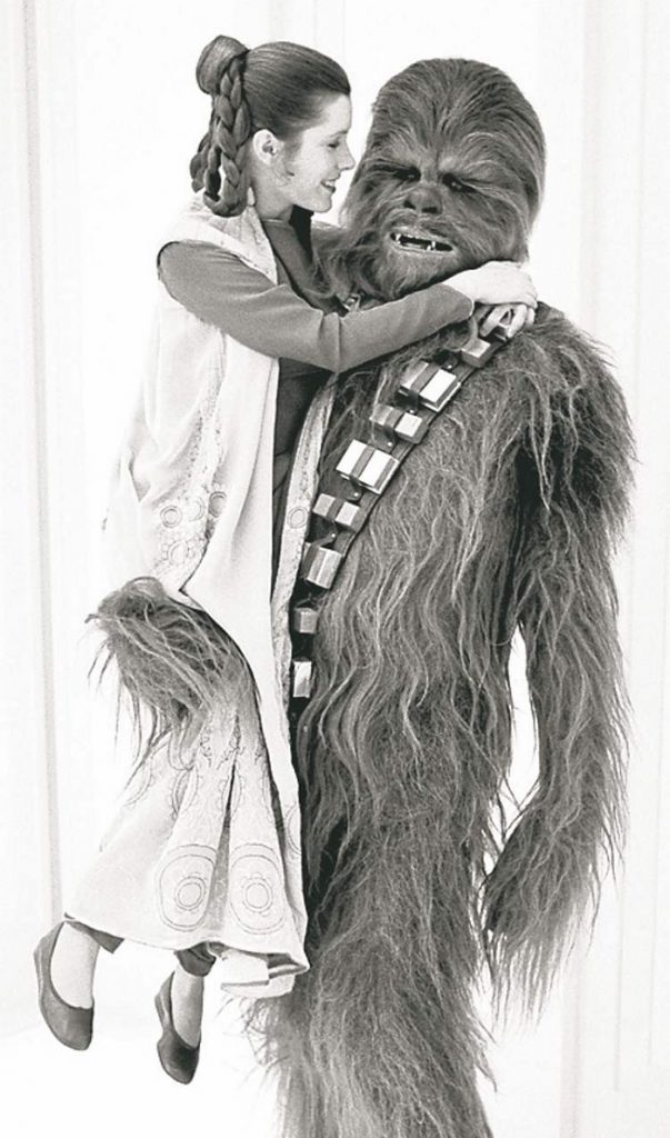 Star Wars Day; Carrie Fisher; Peter Mayhew
