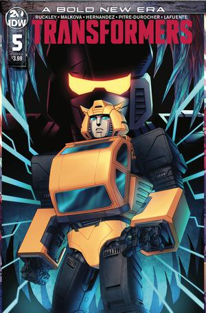 Comic Review: Transformers Issue 5 – Way More Than Meets the Eye!