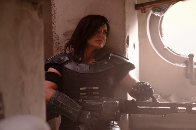 The Mandalorian's Gina Carano At Center Of Latest Twitter Controversy