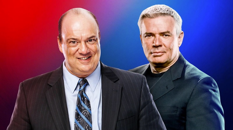 WWE: Paul Heyman And Eric Bischoff Heading Raw And Smackdown Live Shows