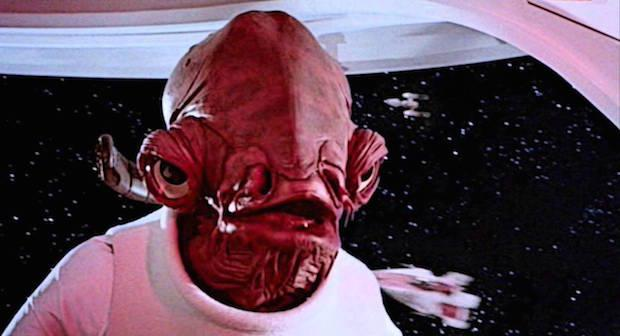 Ackbar Actor Speaks Out About Character's Treatment in 'STAR WARS: The Last Jedi'