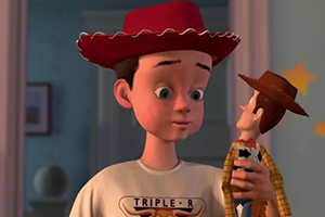 Toy Story 4 Andy and Woody