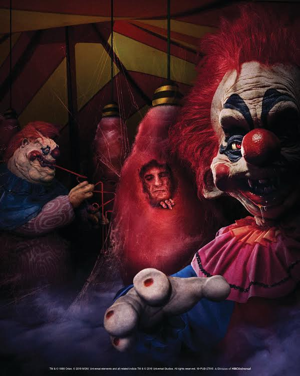 MGM's KILLER KLOWNS From Outer Space Lands In All-New Mazes At Universal Studios Halloween Horror Nights