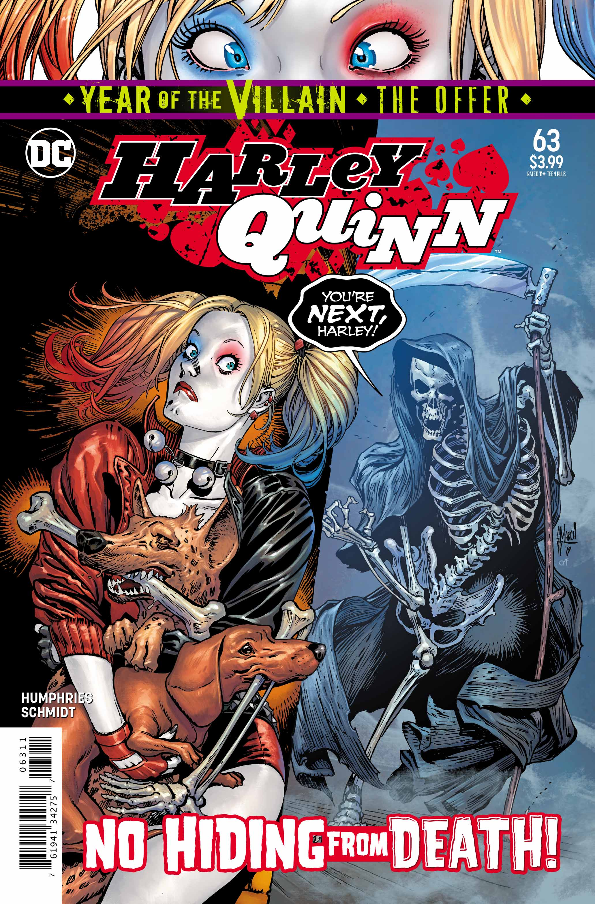 Harley 63: Sadness. Laughing. Tears. Oh How Harley!