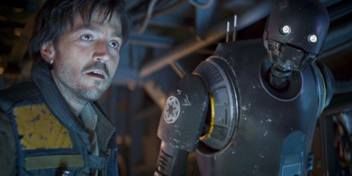Star Wars: Diego Luna Excited for K-2SO Reunion in Cassian Andor Series