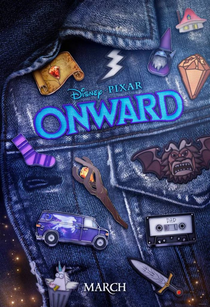 Disney Pixar's Onward poster