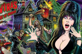 Elvira's pinball machine