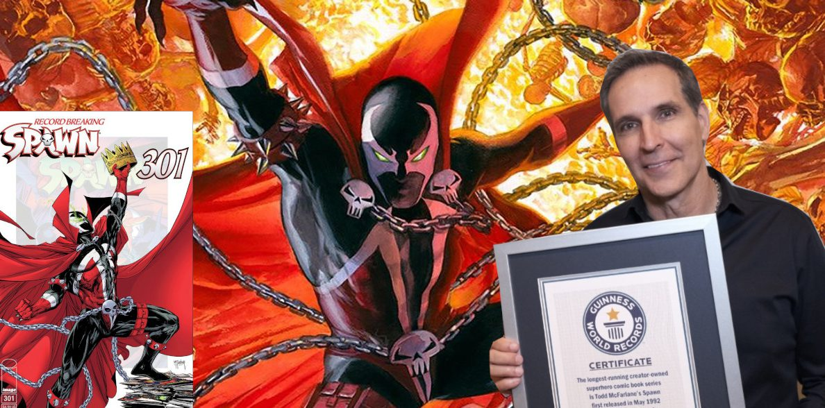 NYCC 2019 EXCLUSIVE: One On One With Guinness World Record Holder Todd McFarlane