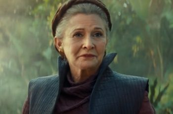 "Was Carrie Fisher in ""Star Wars: The Rise of Skywalker"" really only because of unused footage from ""Star Wars: The Force Awakens?"""