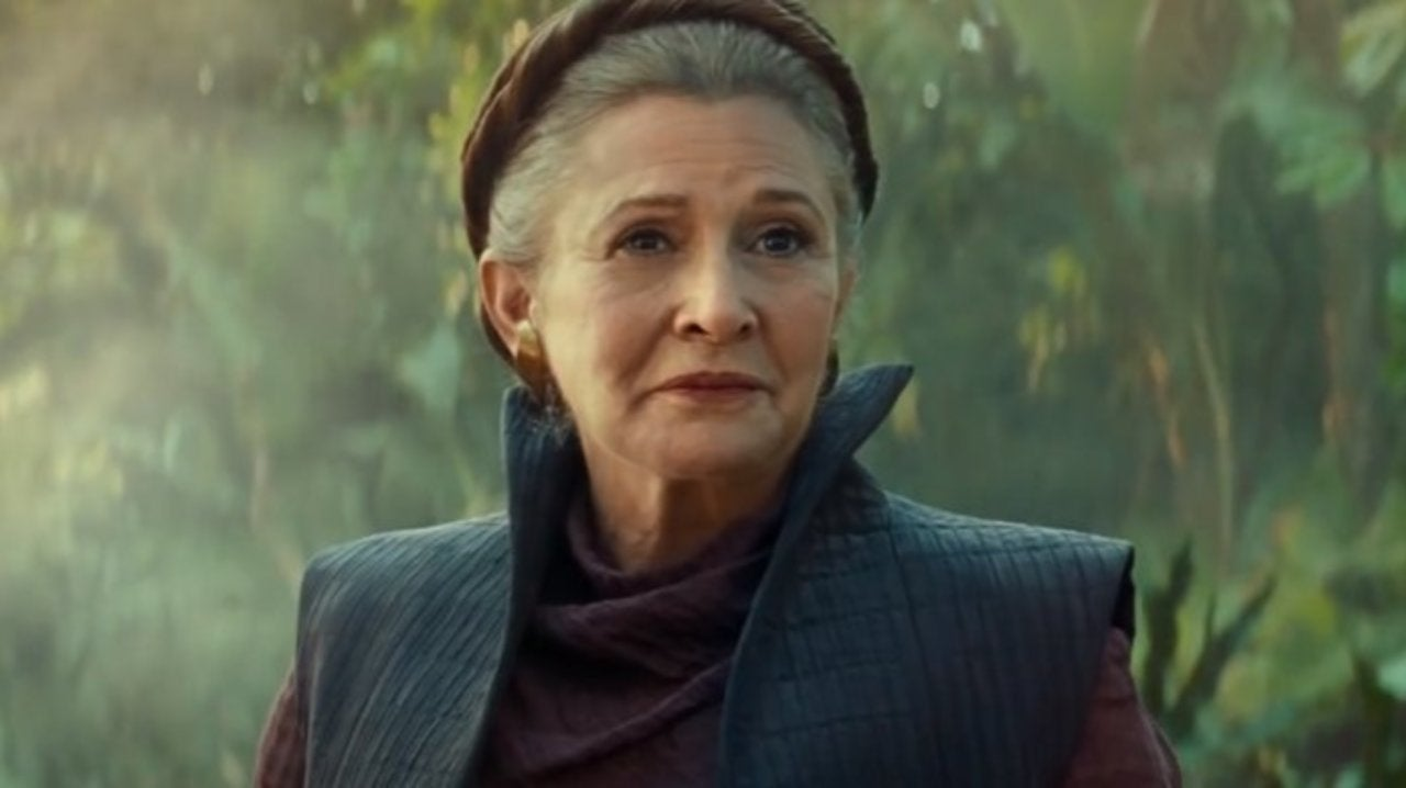 Was Disney Deceitful With Carrie Fisher Footage In Star Wars: The Rise of Skywalker?