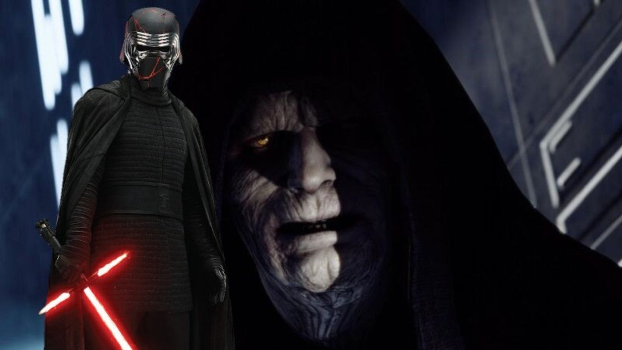 Our First Glimpse At Palpatine In Rise of Skywalker