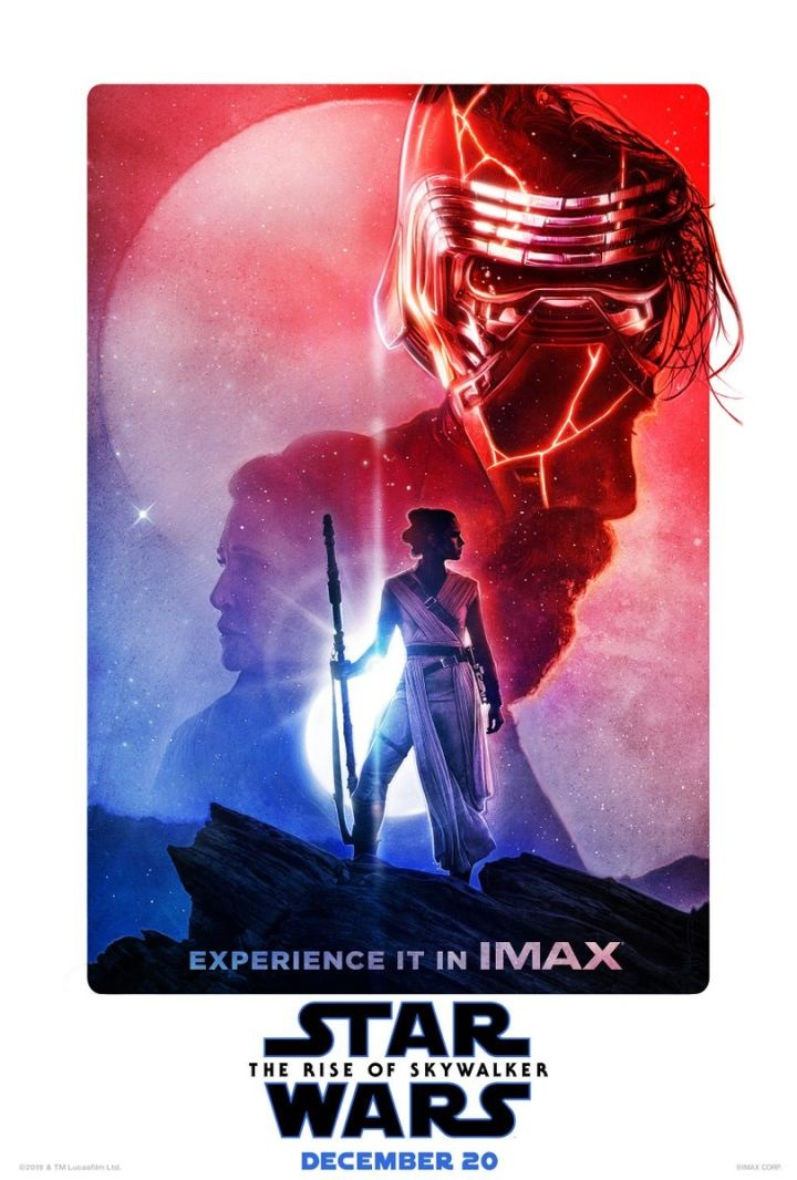 Rise of Skywalker 3D and Imax Posters Released
