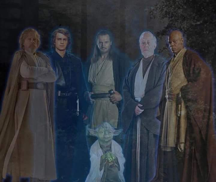 Force ghosts, courtesy of Lucasfilm