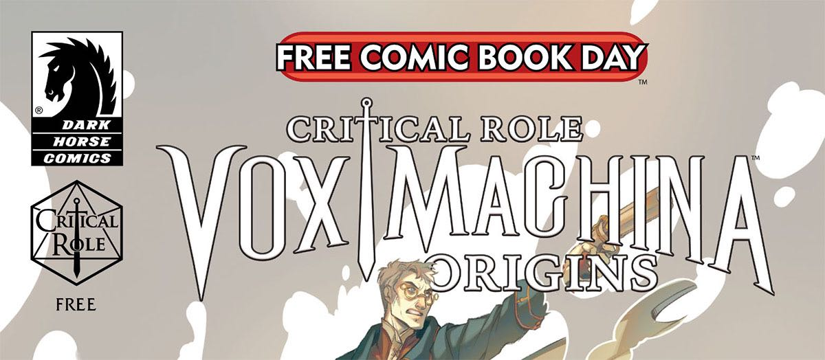Information On Dark Horse Comics' Critical Role/Norse Mythology Comic For FCBD