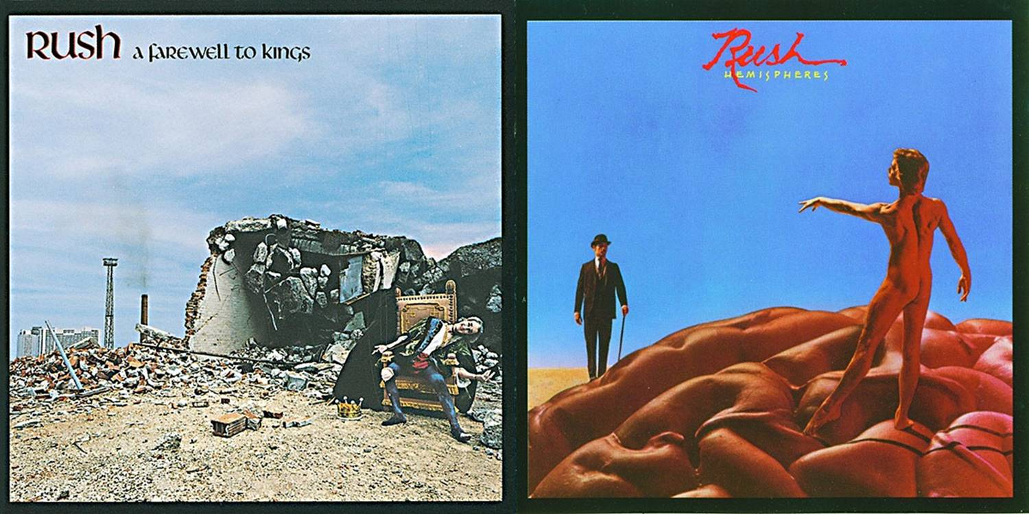 "Rush – The 70's: ""A Farewell to Kings"" and ""Hemispheres"""