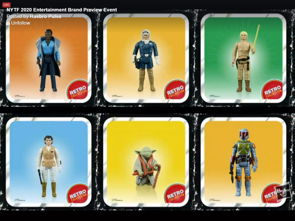 Hasbro Retro figures