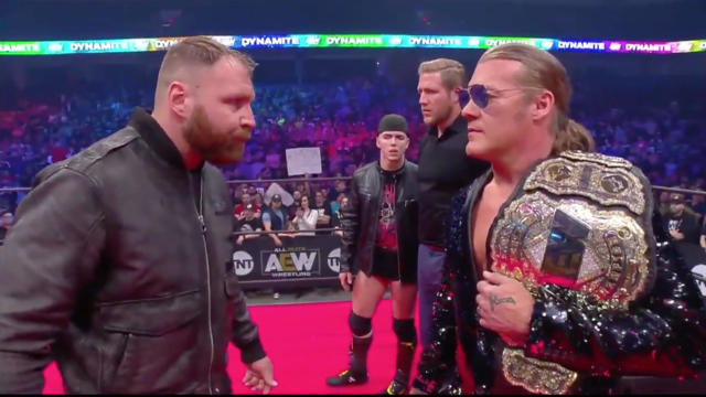 Why Jericho vs. Moxley Is Carrying AEW - That Hashtag Show