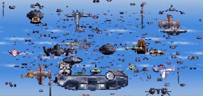 16 Bit Rise of Skywalker, Star Wars Fans!