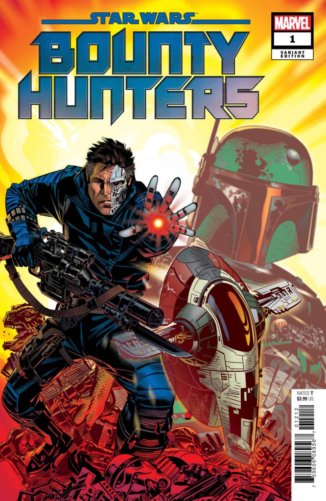 Bounty Hunters Variant Cover