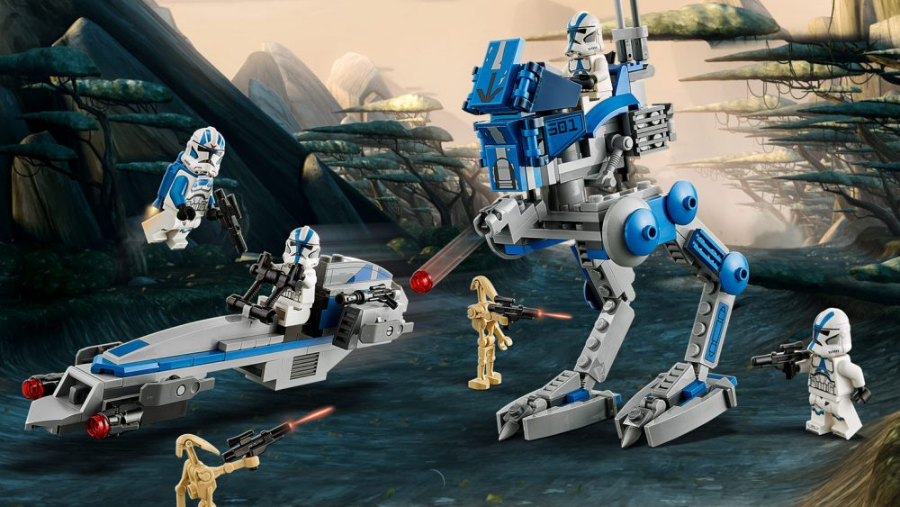 LEGO: 501st Legion Clone Troopers Battle Pack Coming Soon.