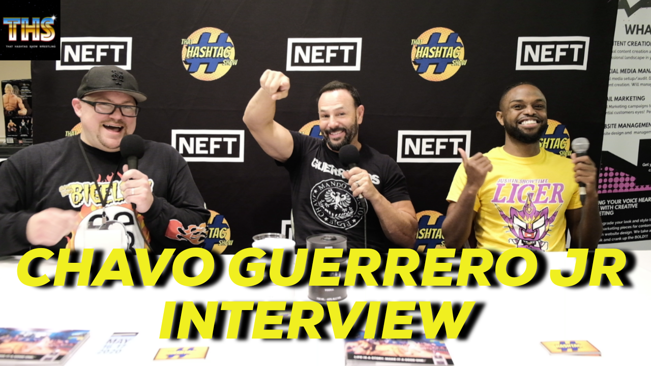 Chavo Guerrero Sits Down With THS To Talk GLOW, WWE, And More