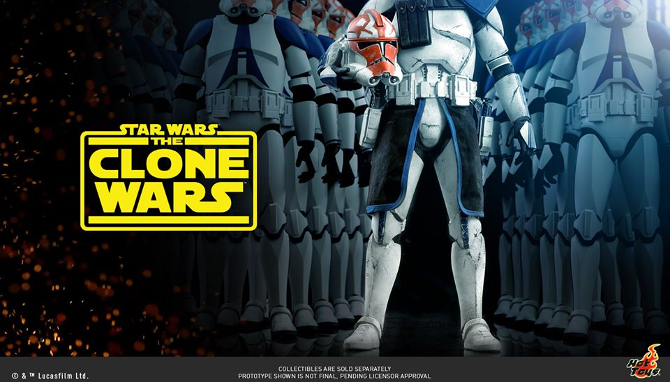 STAR WARS: The Clone Wars Figures Coming To Hot Toys