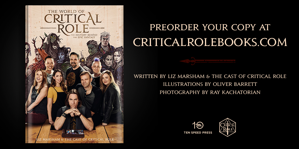 """The World Of Critical Role"" Book Cover And First Chapter Revealed"
