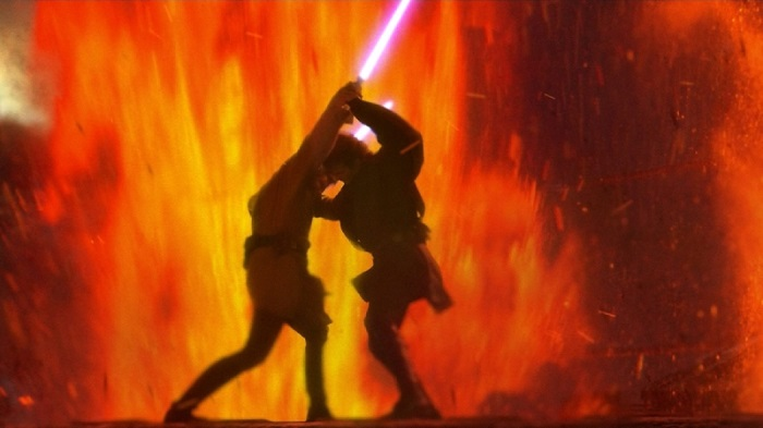 Does Revenge Of The Sith Lightsaber Duel Still Hold Up 15 Years Later That Hashtag Show