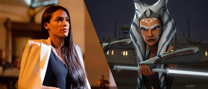 Rosario Dawson as the rumored Ahsoka Tano.