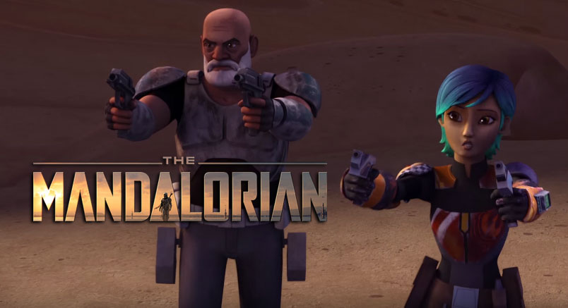 Will Rex and Sabine drop in on The Mandalorian?