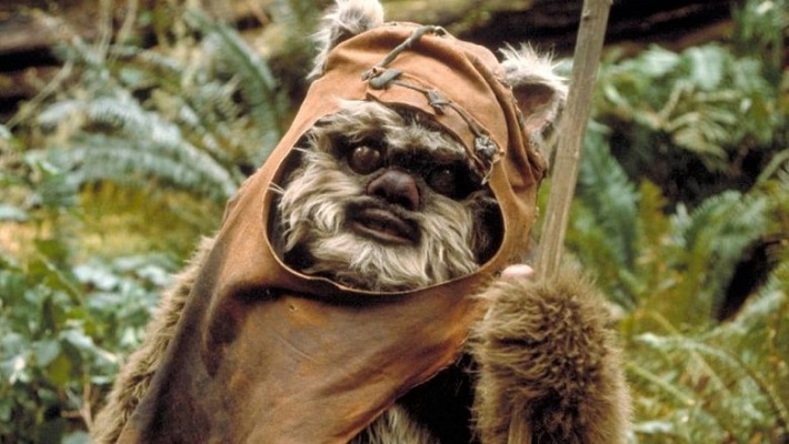 Star Wars: Hairless Ewok Is The Stuff Of Nightmares