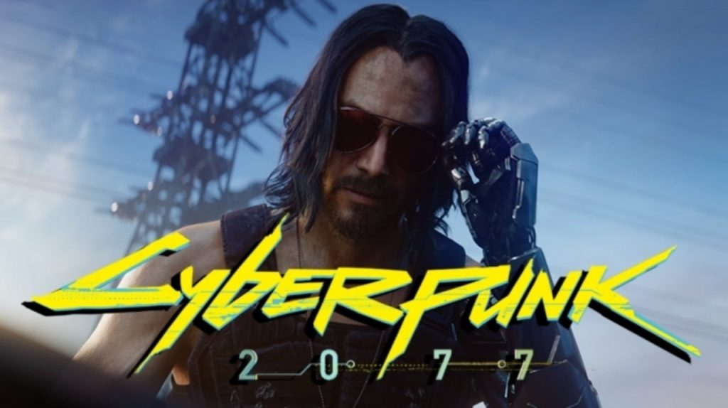 "Johnny Silverhand announcing free next-gen versions of ""Cyberpunk 2077""."